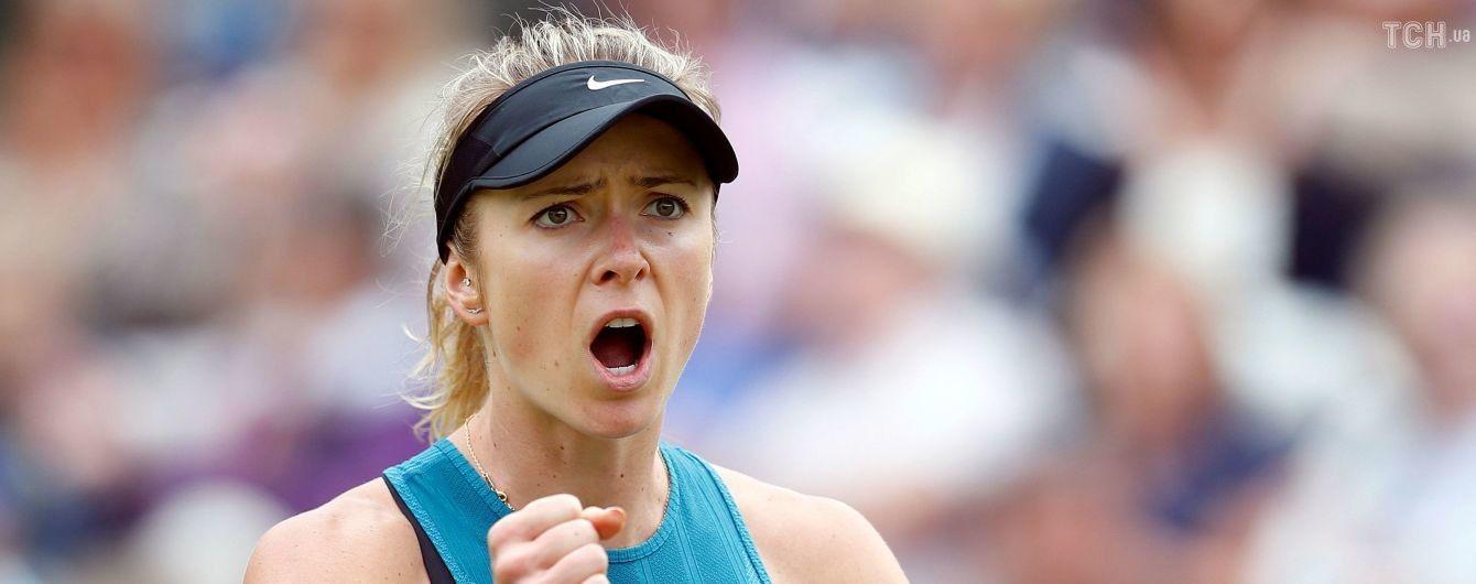 Свитолина осталась пятой, Бондаренко поднялась в мировом рейтинге перед стартом Wimbledon