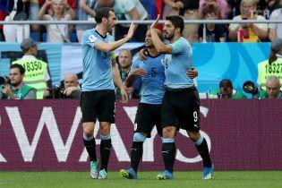 Уругвай обыграл Саудовскую Аравию и вышел в 1/8 финала ЧМ-2018