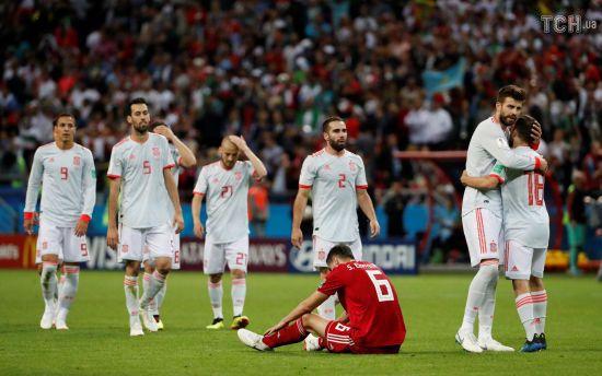 Збірна Іспанії у супернапруженому поєдинку мінімально здолала Іран