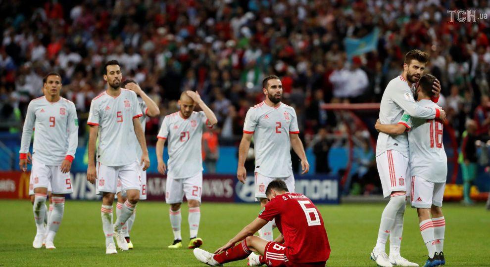 Сборная Испании в супернапряженном поединке минимально одолела Иран
