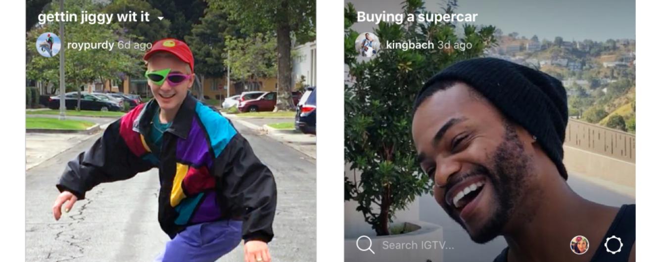 Instagram оголосив про запуск сервісу для довгих відео, кинувши виклик Youtube