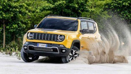 Jeep Renegade возмужал и получил новые двигатели