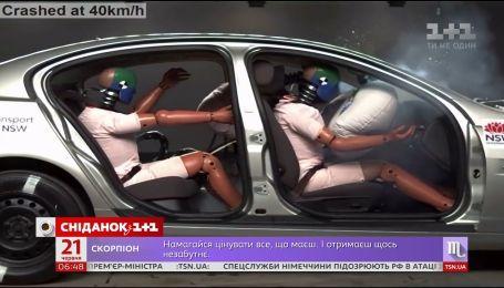 В парламенте зарегистрировали проект закона об увеличении штрафа за непристегнутые ремни безопасности