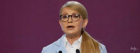 Без косы и с отросшим маникюром: деловой образ Юлии Тимошенко