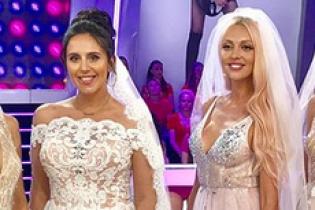 Красавицы в свадебных платьях: Оля Полякова показала фото с Джамалой