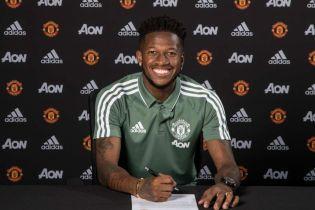 """Офіційно. Фред підписав контракт з """"Манчестер Юнайтед"""""""