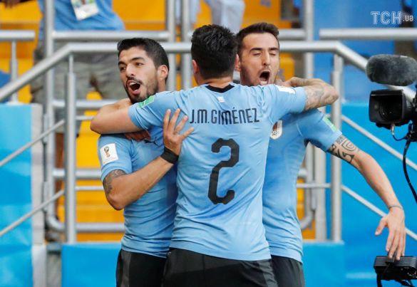 Футболісти збірної Уругваю