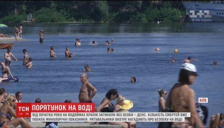 453 людини загинули на водоймах країни від початку року