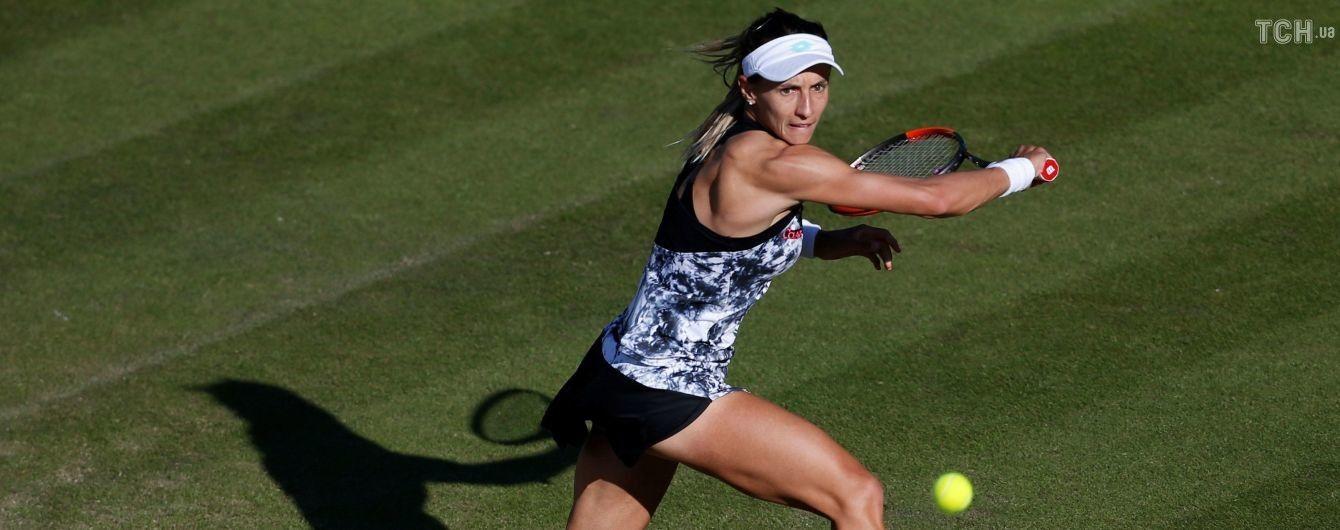 Цуренко одержала волевую победу над россиянкой и вышла в 1/4 финала в Бирмингеме