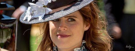 В цветочном наряде и красивой шляпе: новый выход принцессы Евгении