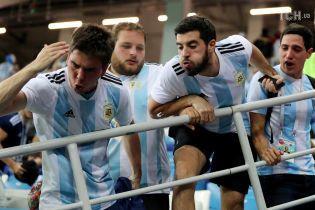 Фанаты сборной Аргентины набросились и жестоко избили болельщика сборной Хорватии на ЧМ-2018