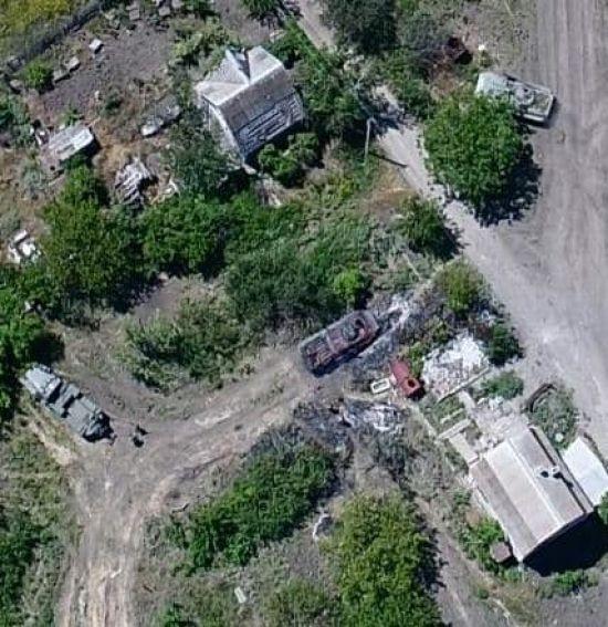 """На Донбасі """"третя сила"""" знищила трьох командирів терористів та декілька одиниць військової техніки"""