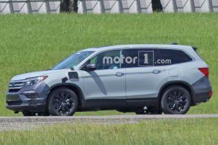 Honda Pilot получит гибридный привод с возможностью подзарядки