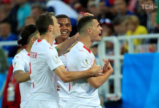 ЧС-2018: Швейцарія на останній хвилині здобула вольову перемогу над Сербією