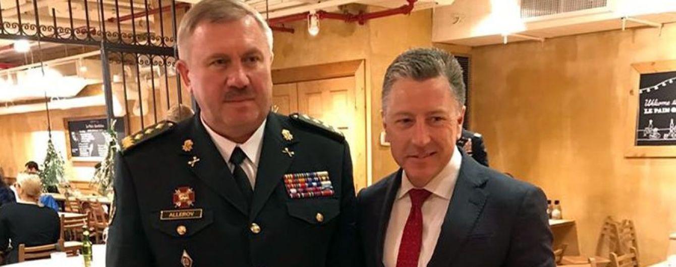 Волкер обговорив з головою Нацгвардії ситуацію на Донбасі