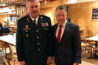 Волкер обсудил с главой Нацгвардии ситуацию на Донбассе