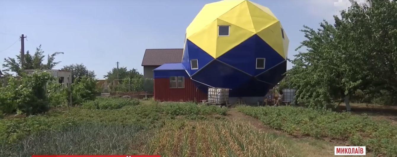 Пенсионер в Николаеве построил удивительный дом для реабилитации АТОшников