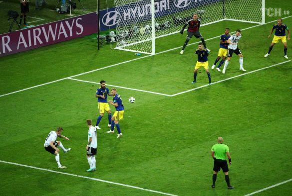 Тоні Кроос забиває гол