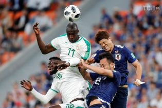 ЧС-2018. Збірна Японії врятувалася від поразки від Сенегалу