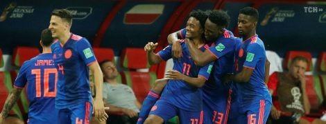 Колумбія розгромила Польщу і позбавила її шансів на вихід до плей-оф ЧС-2018