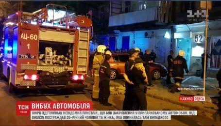 Окрім директора охоронної фірми від вибуху в Одесі постраждала перехожа