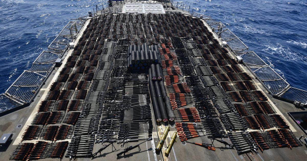 © П'ятий флот ВМС США (U.S. 5th Fleet) Twitter