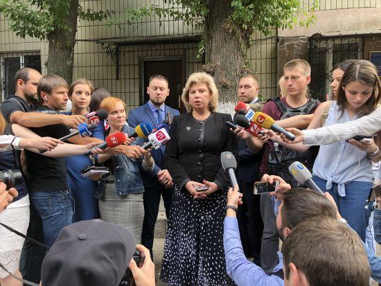 Москалькова жорстко розкритикувала Денісову за її намагання потрапити до Сенцова