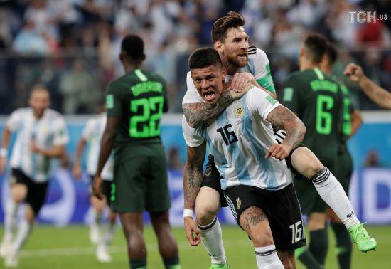 Аргентина видряпала перемогу в Нігерії та зі скрипом пройшла до плей-оф ЧС-2018