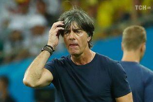 Сборная Германии не собирается увольнять тренера после провального выступления на ЧМ-2018
