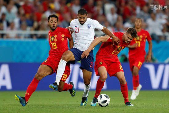 Збірна Бельгії перемогла Англію і виграла групу, обидві зіграють у плей-оф Чемпіонату світу