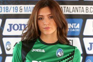 Итальянский клуб представил новую форму на девушках-моделях