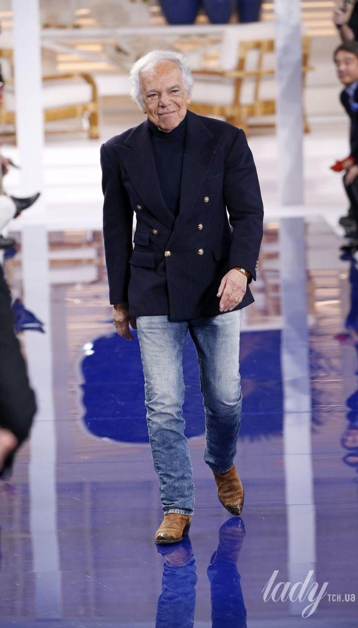 Колекція Ralph Lauren прет-а-порте сезону осінь-зима 2018-2019 @ East News