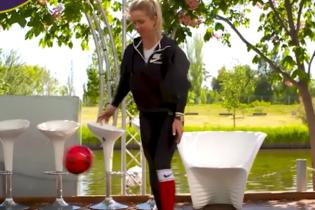 """Свитолина показала футбольный """"фристайл"""" перед стартом Wimbledon"""
