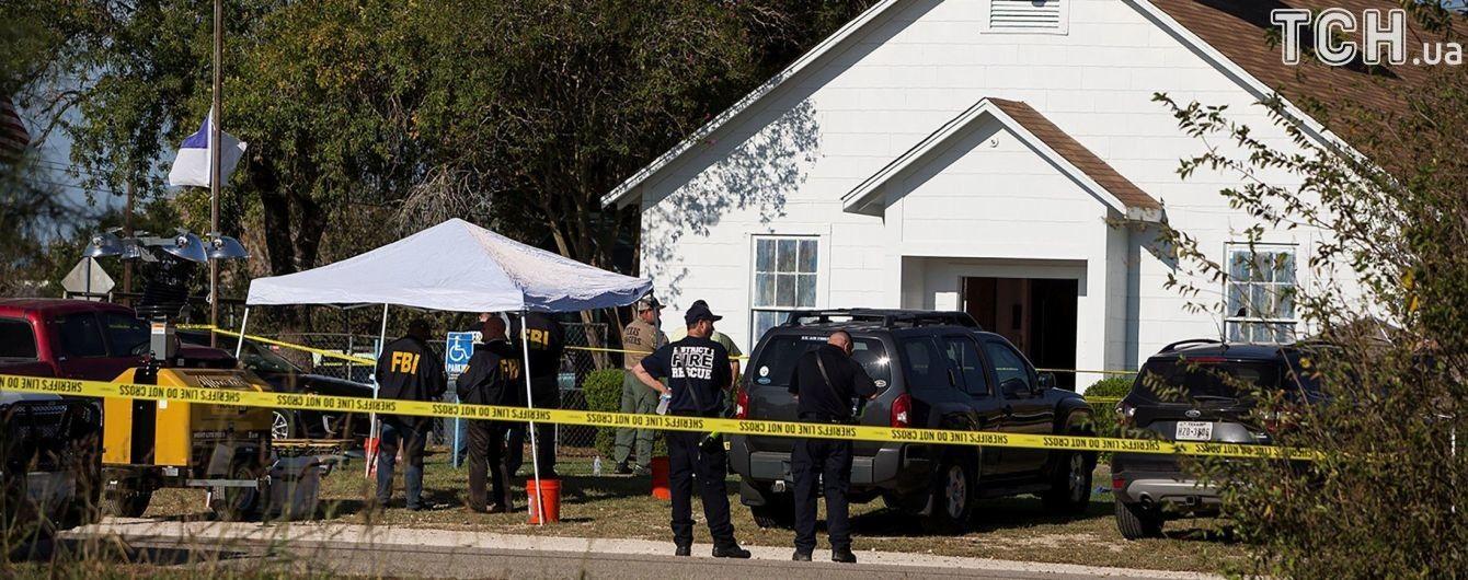 Стрельба в тихом американском городке. В Техасе экс-военный убил в церкви более 20 верующих