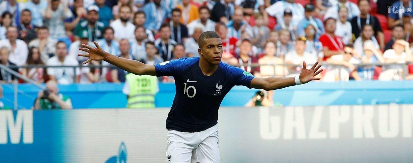 Юний футболіст збірної Франції вразив рекордною швидкістю у матчі проти Аргентини