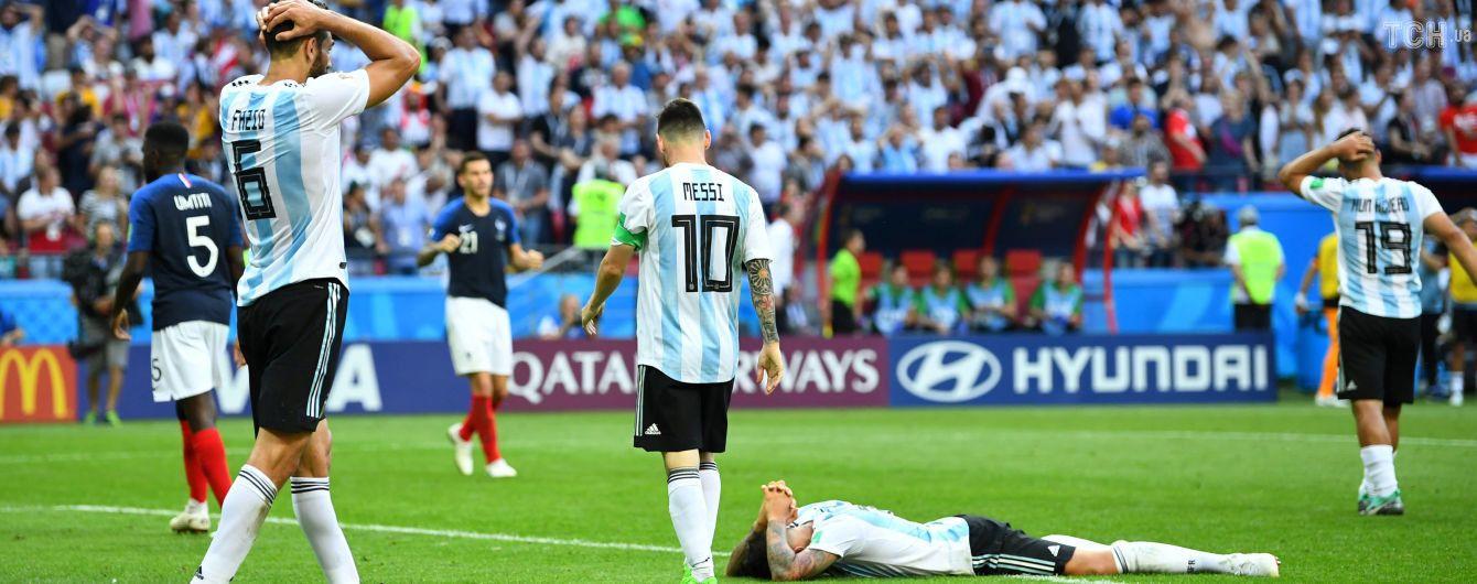 Сборная Аргентины установила два невероятных антирекорды на ЧМ-2018