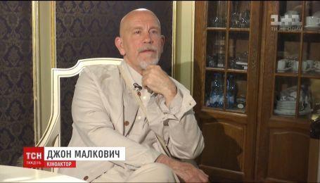 Голлівудська зірка Джон Малкович дав ексклюзивне інтерв'ю ТСН.Тижню