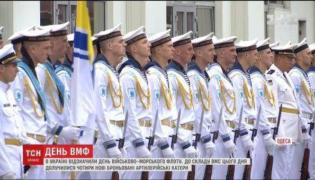 В Одесі військові моряки висловили підтримку незаконно заґратованому Сенцову