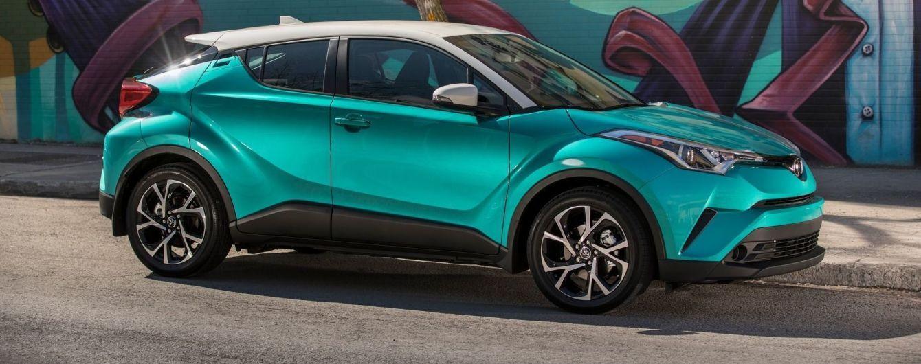 Toyota C-HR отримає нові відтінки і комплектації