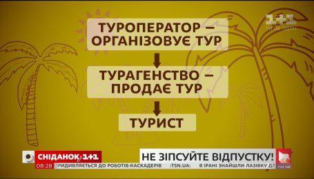 Как выбрать надежную турфирму - адвокат Антон Бойко