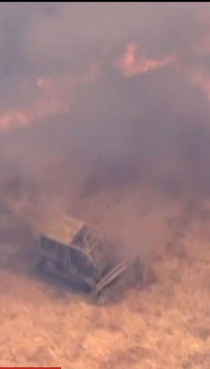 Мощные лесные пожары охватили север Калифорнии