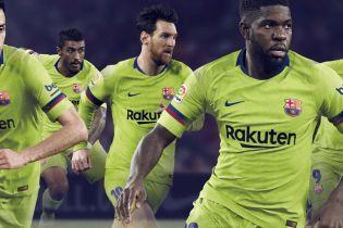 """""""Барселона"""" наступного сезону гратиме виїзні матчі у яскраво-жовтій формі"""