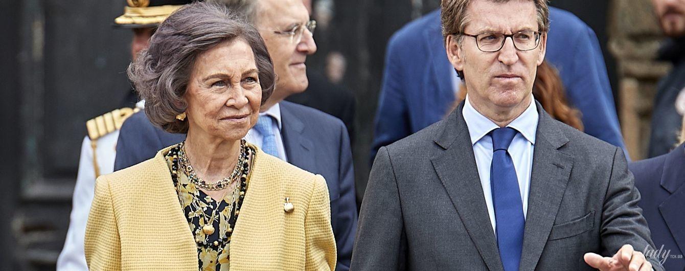 Виглядає прекрасно: 79-річна королева Софія відвідала публічний захід