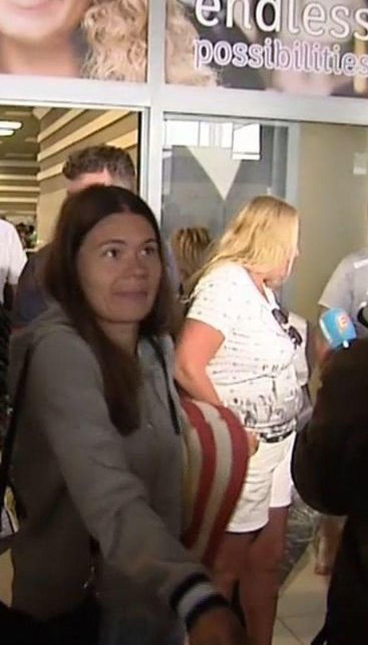 До Києва повернулася частина туристів з Тунісу
