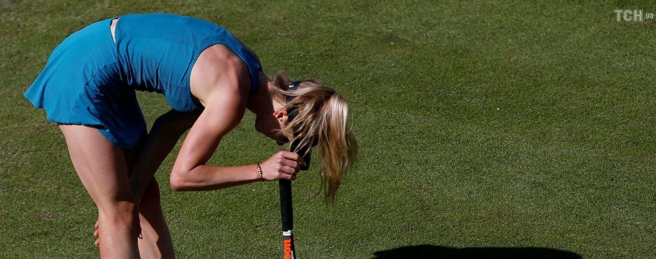 Свитолина вылетела на старте Wimbledon, Цуренко вышла во второй круг