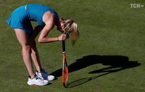 Світоліна вилетіла на старті Wimbledon, Цуренко вийшла у друге коло