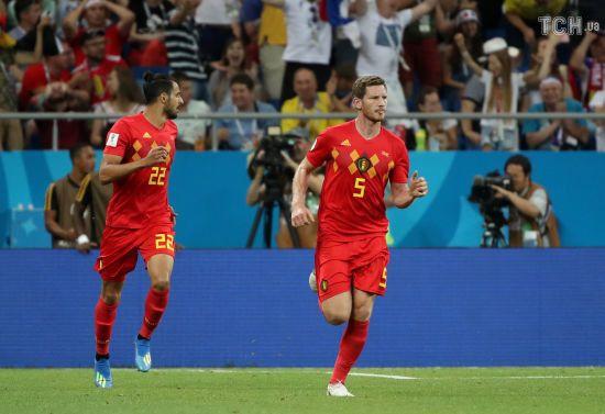 Захисник збірної Бельгії забив божевільний гол головою