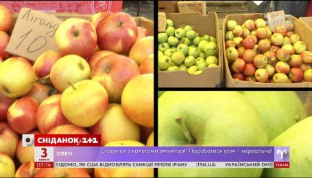 Яблоки нового урожая уже на рынках и магазинах Украины - экономические новости