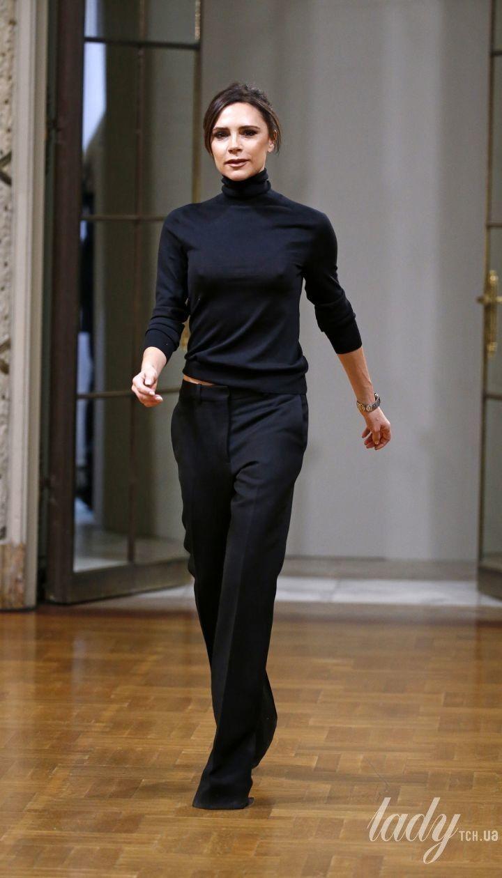 Колекція Victoria Beckham прет-а-порте сезону осінь-зима 2018-2019 @ East News