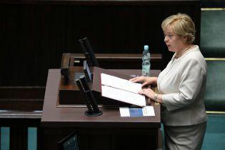 У Польщі оголосили про відставку верховного судді через скандальну реформу